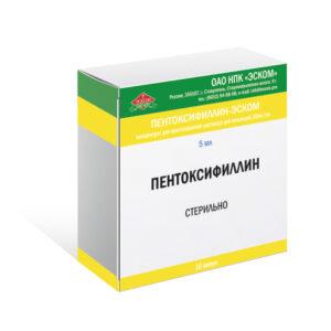 Пентоксифиллин-ЭСКОМ
