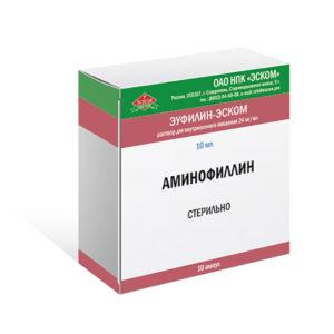 Аминофиллин (Эуфиллин)